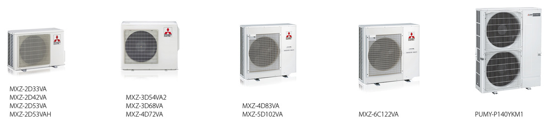 Mitsubishi multi-split MXZ zunanje_enote