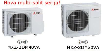 Mitsubishi Multi-Split MXZ-DM