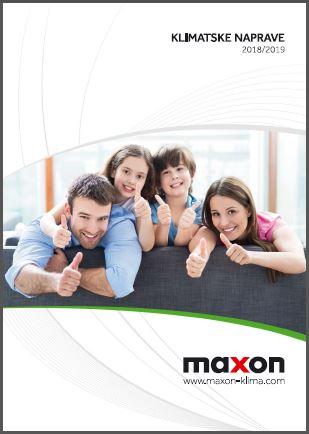 Maxon klimatske naprave katalog 2019