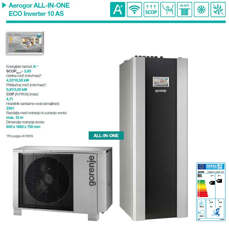 Aerogor ALL-IN-ONE ECO Inverter 10AS