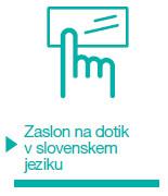 Aerogor Zaslon na dotik slovenski jezik
