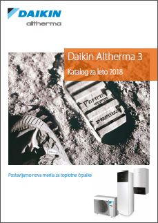 Daikin Altherma 3 katalog cenik