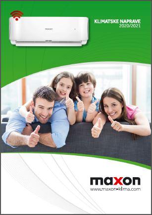 Maxon klimatske naprave katalog 2020