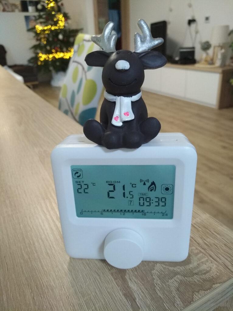 FTWiFi sobni termostat in jelenček Rudolf