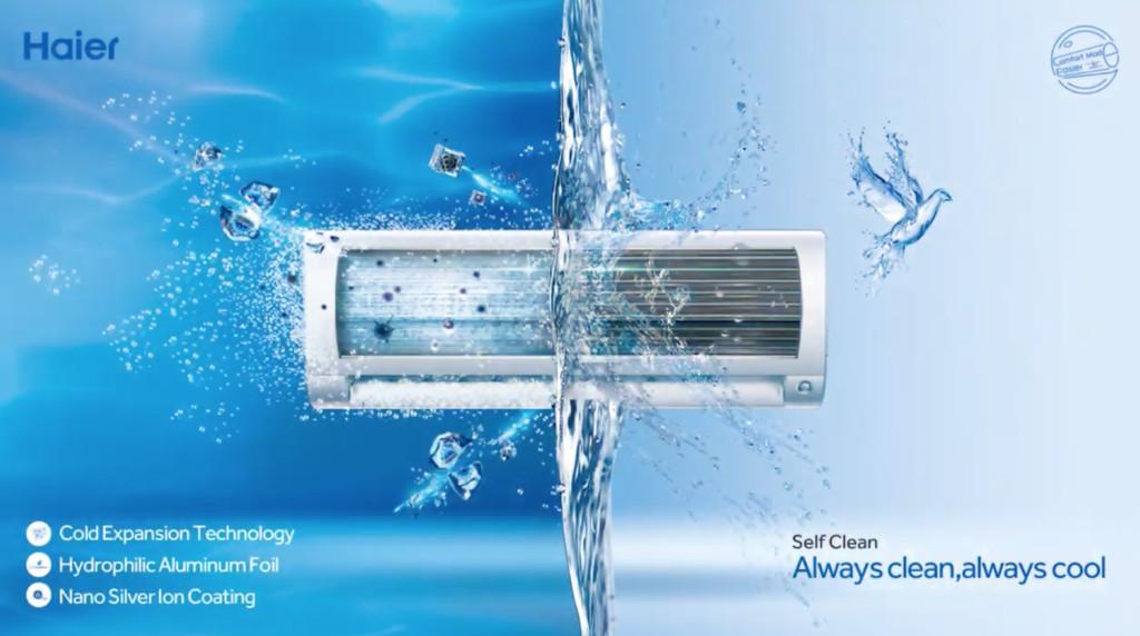 Haier Frost Clean tehnologija